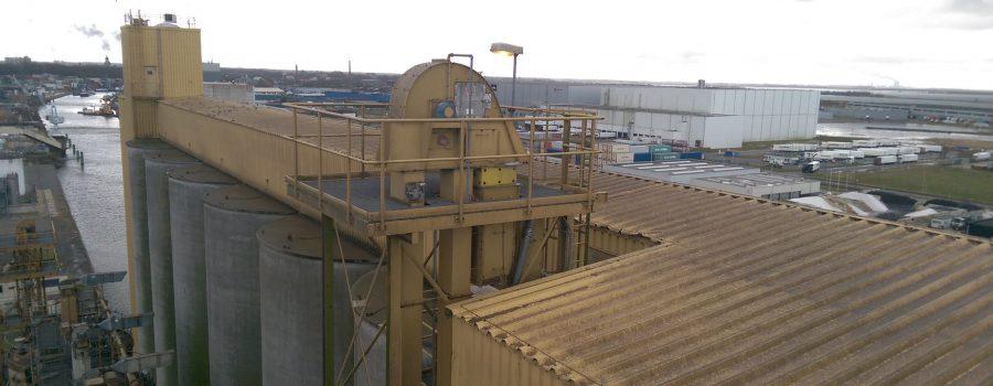 Inspectie van tarwe elevator ter voorkoming stilstand