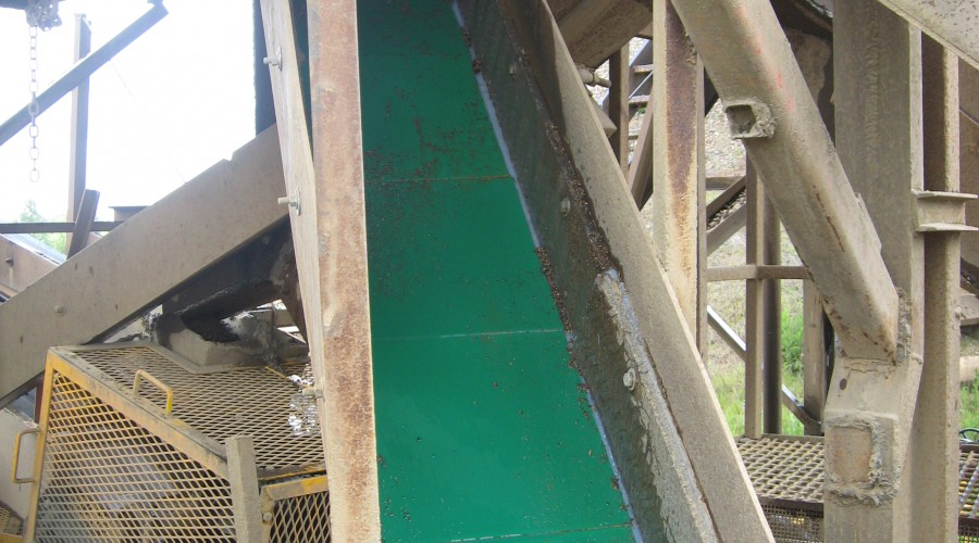 G83 redi liners in chute